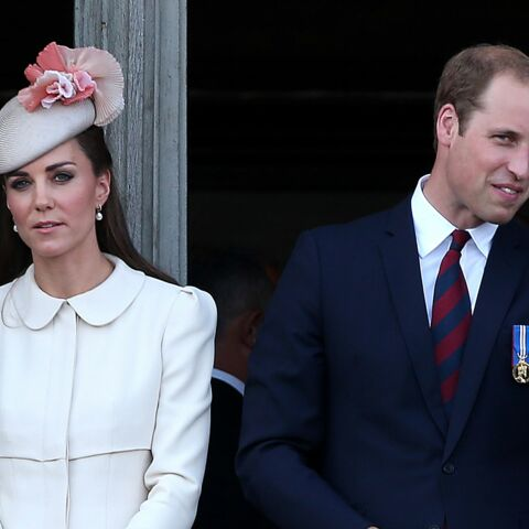 Kate et William menacent un photographe