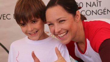 Natasha St-Pier: son fils Bixente guéri, elle s'engage pour les malades du coeur
