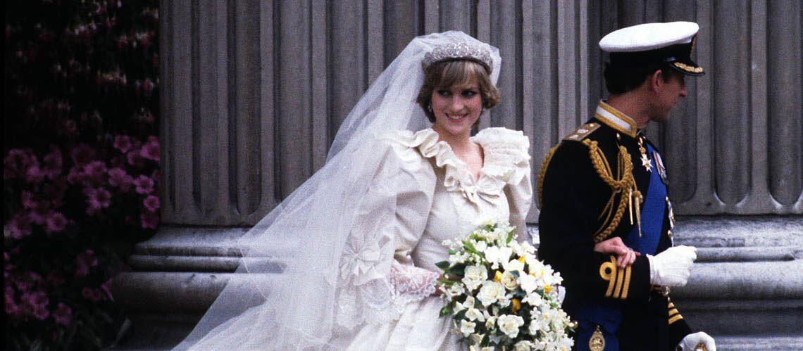Princesse Diana Sa Robe De Mariage Revient A Ses Fils Gala