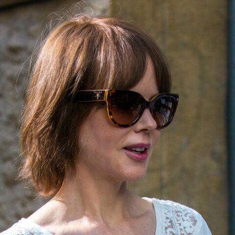 Coiffure de star- Le brun glacé de Nicole Kidman