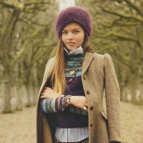 Thylane: la fille de Véronika Loubry sort de l'ombre