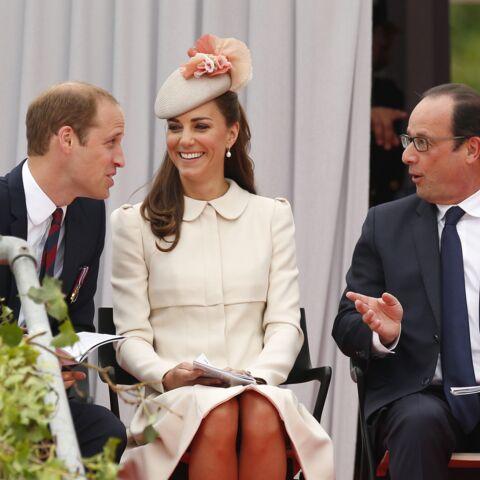 Kate et William sous le charme de François Hollande