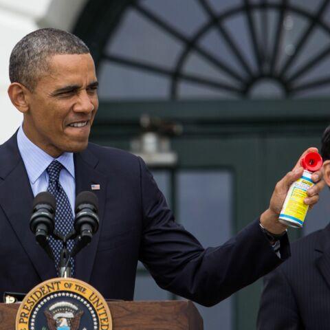 Photos – Barack Obama, 54 ans et toujours aussi cool