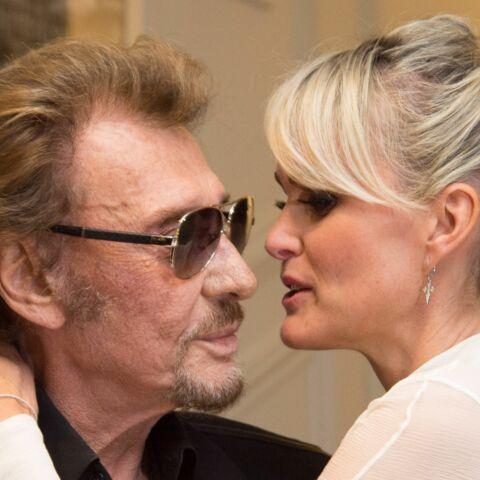 """Johnny et Laeticia Hallyday célèbrent """"l'amour de leur vie"""""""
