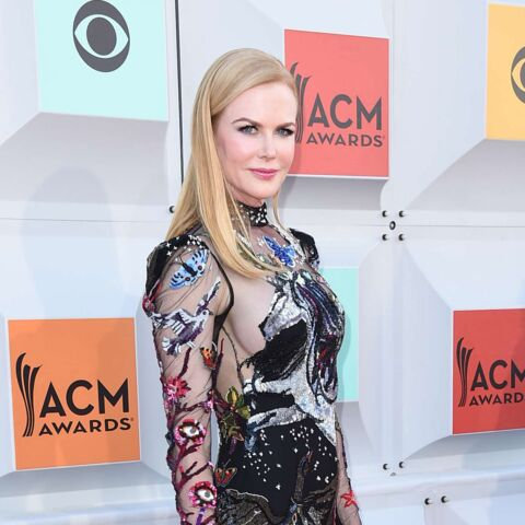 Nicole Kidman, sortie baroque