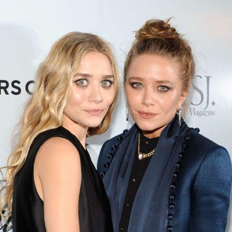 Plongeon arty pour les jumelles Olsen