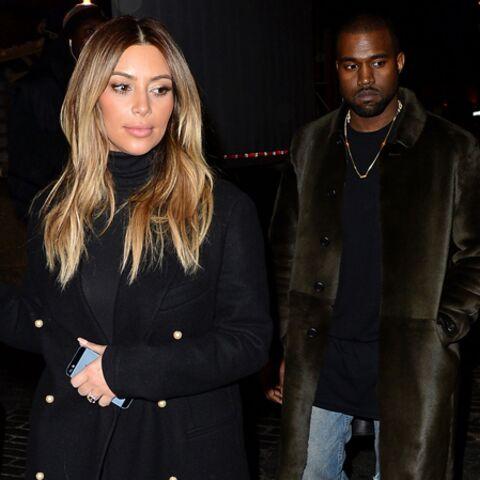 Kanye West et Kim Kardashian de Versailles