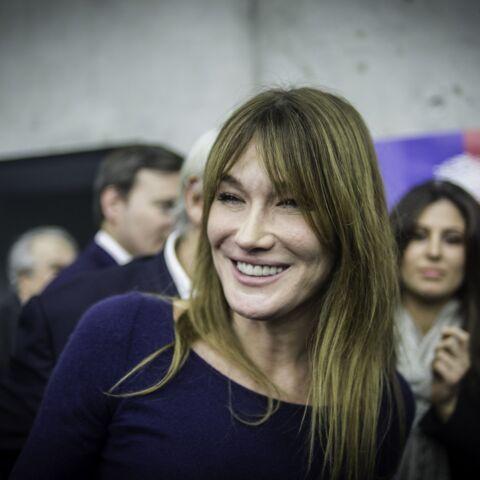 Carla Bruni-Sarkozy toujours aussi amoureuse