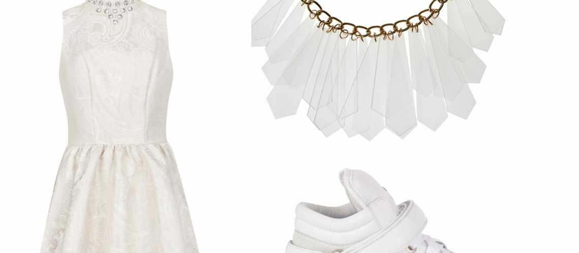 Shopping Noël – White attack