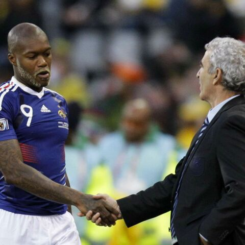 Djibril Cissé et Raymond Domenech, le grand pardon