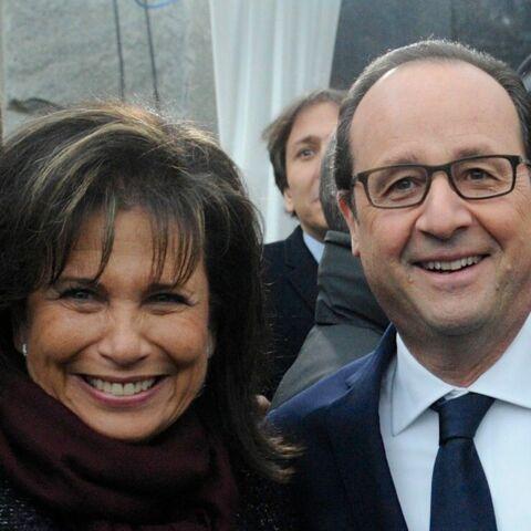 Anne Sinclair, un dernier verre avec François Hollande