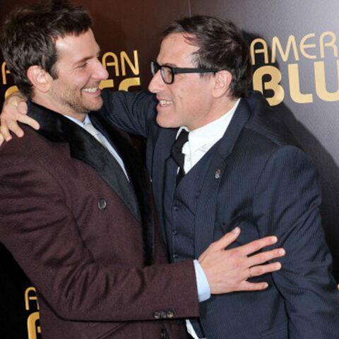 Bradley Cooper et David O. Russell à l'avant-première d'American Bluff