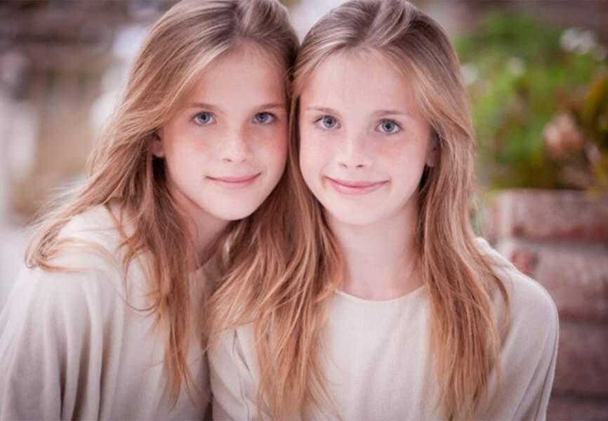 Cali et Noelle Sheldon alias Emma dans Friends