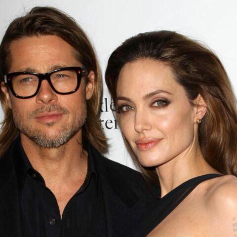 Angelina Jolie et Brad Pitt, l'amour en cascade