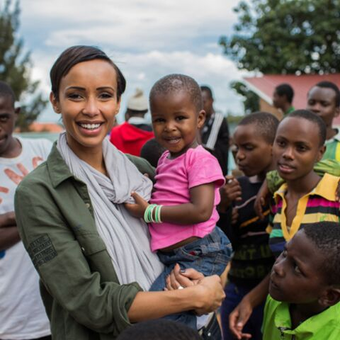 Sonia Rolland engagée pour le Rwanda