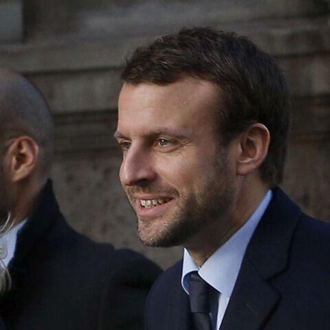 Emmanuel Macron ose la barbe de trois jours