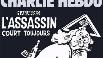 Charlie Hebdo dévoile la une de son numéro anniversaire