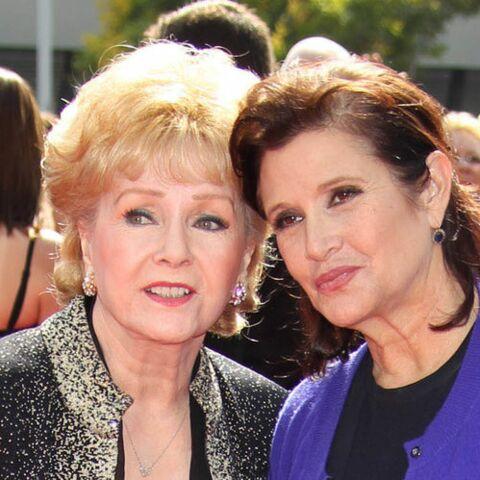 PHOTOS – Les stars émues à la cérémonie d'hommage de Carrie Fisher et de sa mère Debbie Reynolds