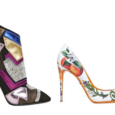 Shopping mode – Escarpins ou bottines patchwork, les its-shoes de l'été