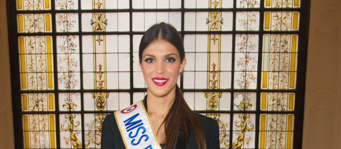 PHOTO – Iris Mittenaere, Miss France 2016, ultra sexy en robe de soie