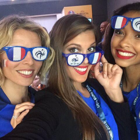 Photos – Les stars venues en force soutenir les Bleus