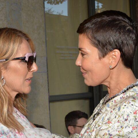 PHOTOS – Céline Dion et Cristina Cordula, la rencontre: très complices au défilé Giambattista Valli
