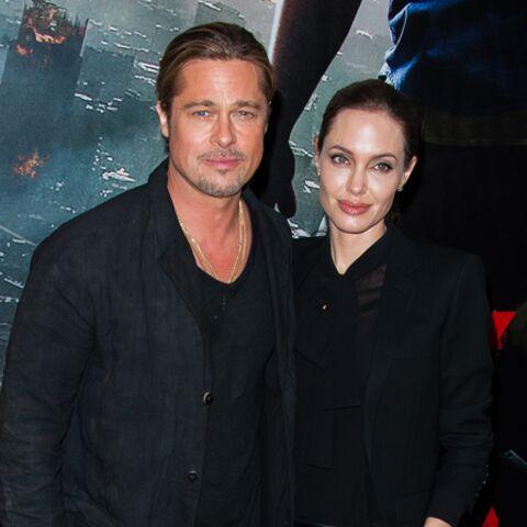 Photos- La folle soirée parisienne de Brad Pitt et Angelina Jolie