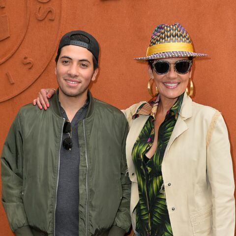 Cristina Cordula emmène son fils Enzo à Roland Garros