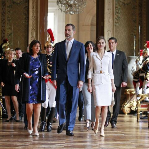 Anne Hidalgo: sa rencontre avec Felipe VI et Letizia
