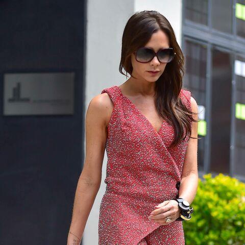 Look – Victoria Beckham, la vie en rose