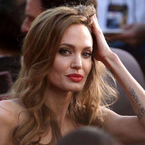 Angelina Jolie l'impair de la pierre