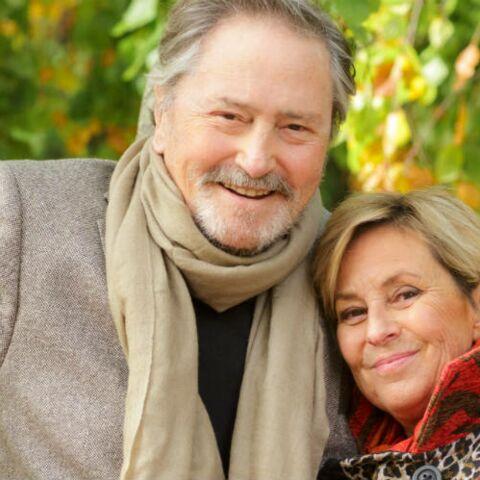 PHOTOS Victor Lanoux: un an après son accident il se mariait avec Véronique