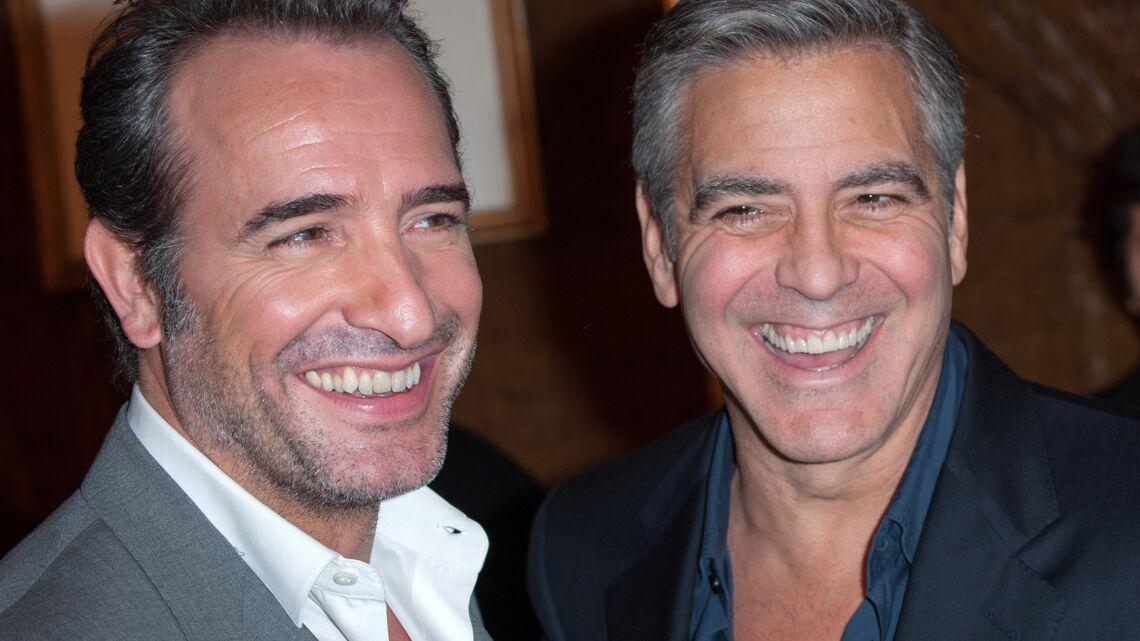 La vidéo du délire de George Clooney et Jean Dujardin
