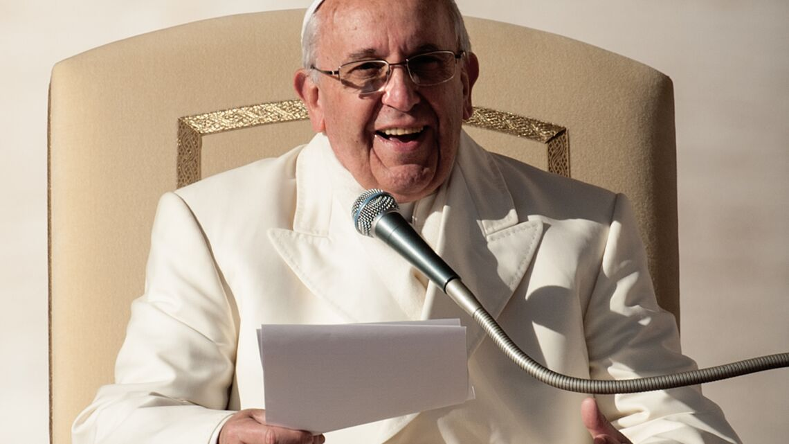Vidéo-Le Pape François dit «f*ck» dans un discours