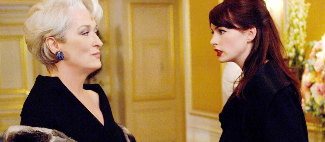 Anne Hathaway se souvient de la froideur de Meryl Streep