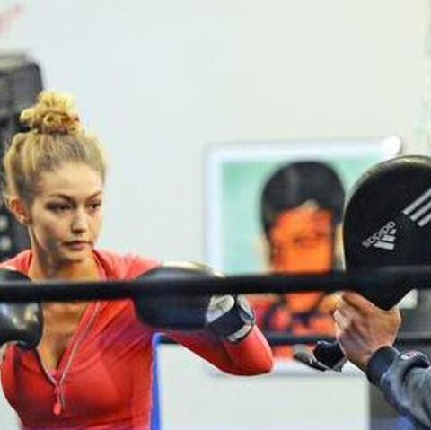 PHOTOS – Gigi Hadid, Shy'm, Laury Thilleman… Toutes les stars fans de boxe