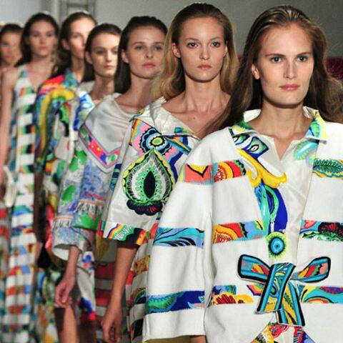 Fashion Week Paris: l'exubérance de Leonard