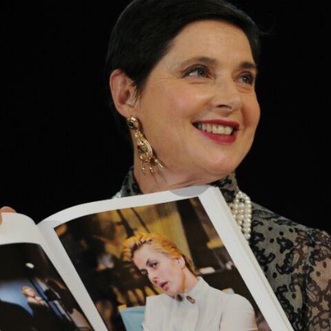 Isabelle Rossellini présente un livre sur sa mère