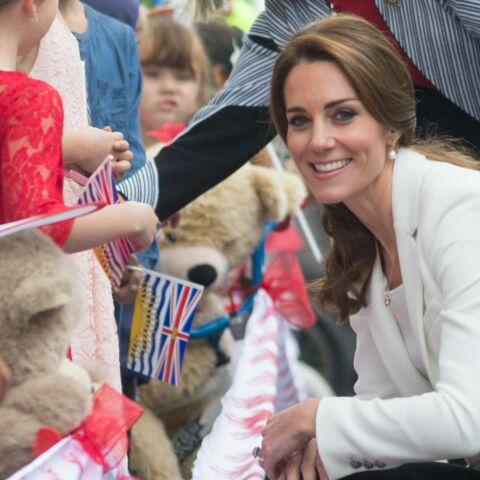 PHOTOS – Princesse Kate, working girl au Canada