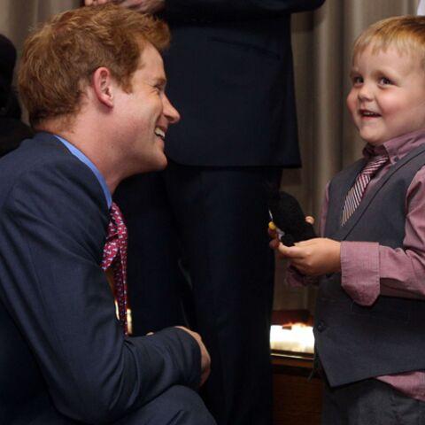 Le prince Harry ne manque pas d'air… ni d'humour