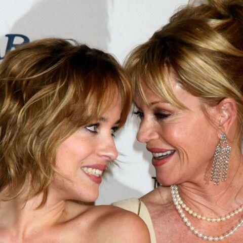 Melanie Griffith «fière» de sa fille pour son rôle dans 50 Shades of Grey