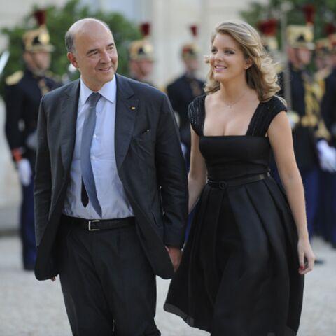 Photos- Pierre Moscovici et Marie-Charline, des amoureux à l'Elysée