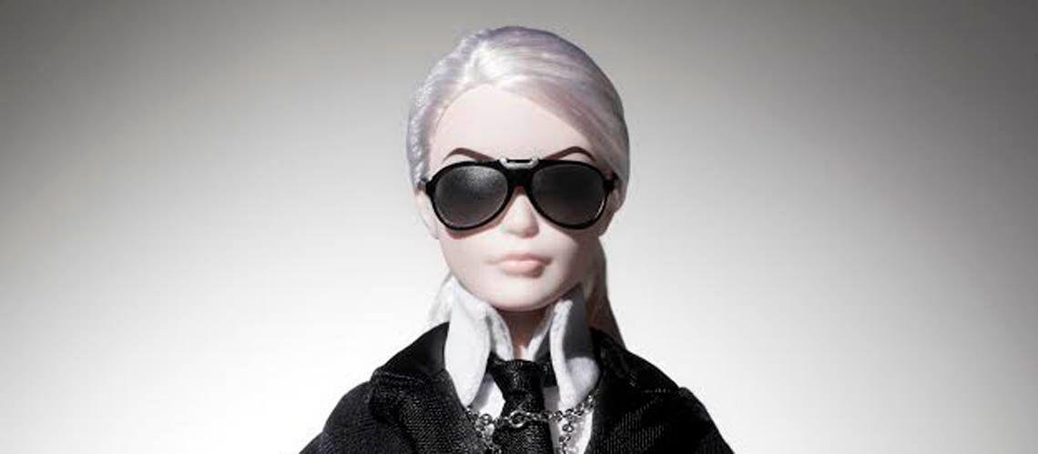 Karl Lagerfeld s'offre une Barbie