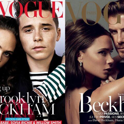 Brooklyn Beckham dans les pas de ses parents