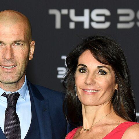 """Zinedine Zidane fait une belle déclaration à sa femme: """"Je lui dois tout"""""""