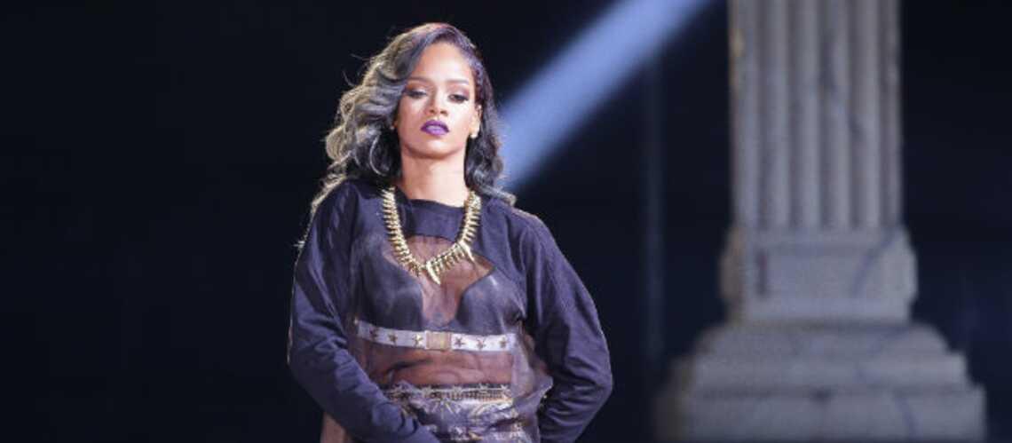 Rihanna se lâche complètement à la Barbade