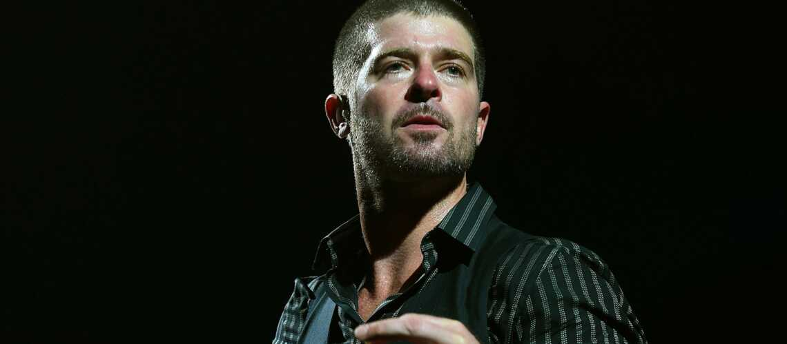 Robin Thicke annule un concert pour aller au camping