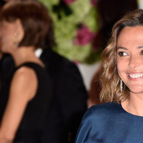 Sandrine Quétier, solaire au Gala de la Croix-Rouge