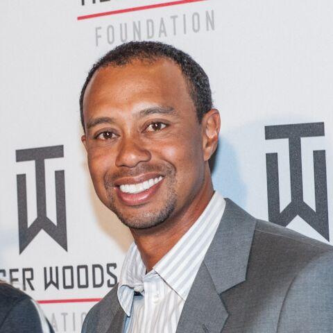 Tiger Woods: bientôt chauve, mais avec le sourire