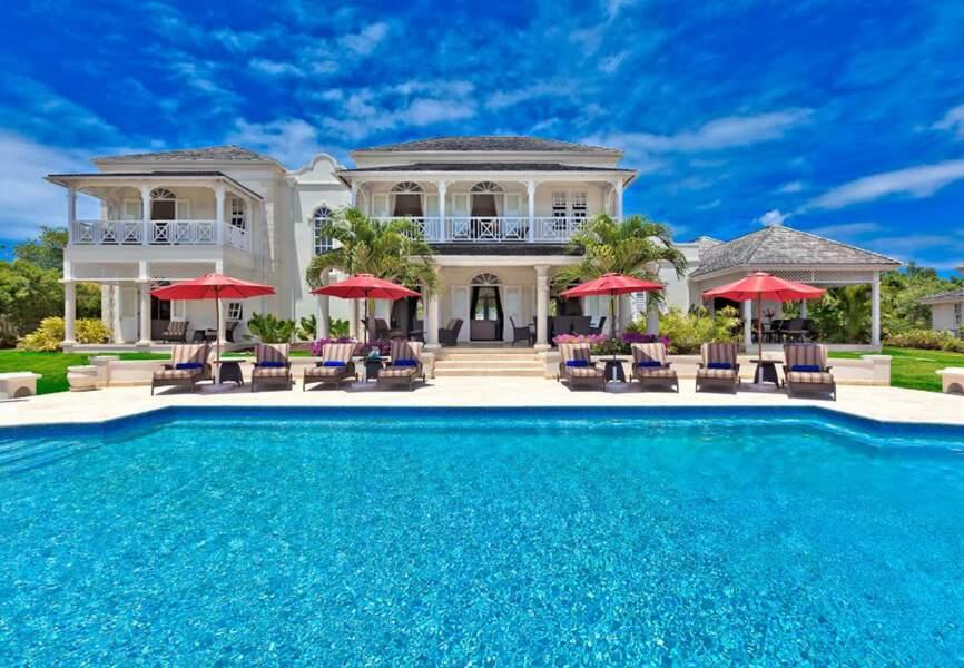 Rihanna s'est récemment fait construire une magnifique villa sur l'île de la Barbade